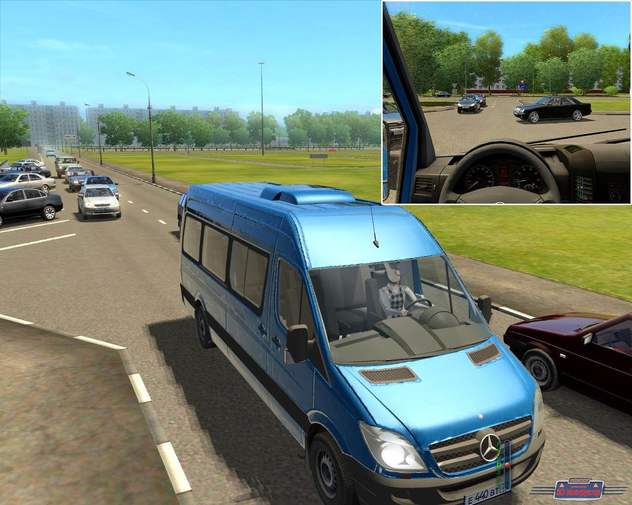 Mercedes Benz Sprinter для 3D Инструктор [2.2.7]