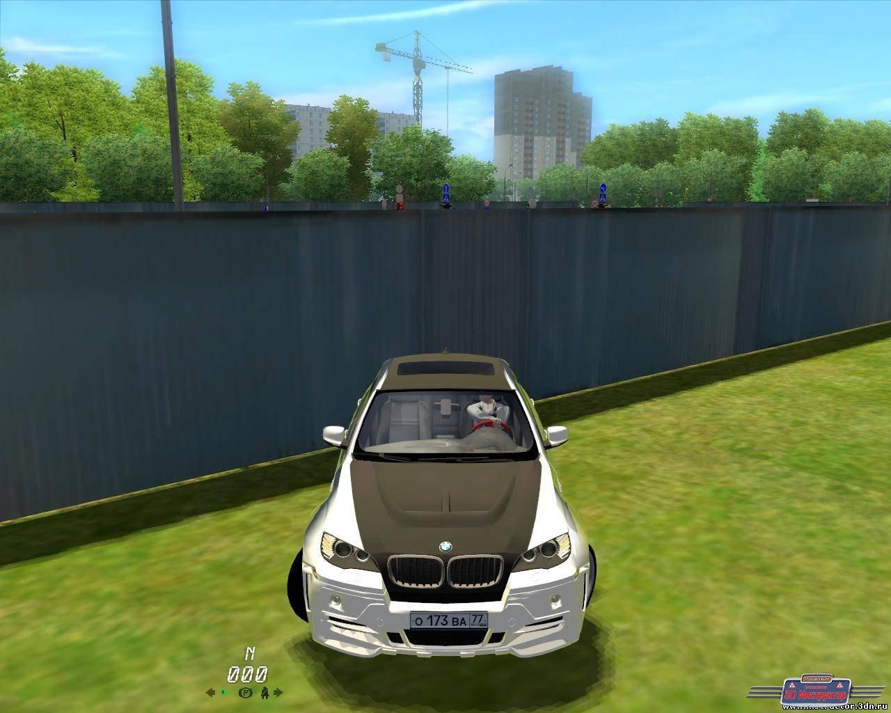 BMW X6 M Tuning для 3D Инструктор [2.2.7]