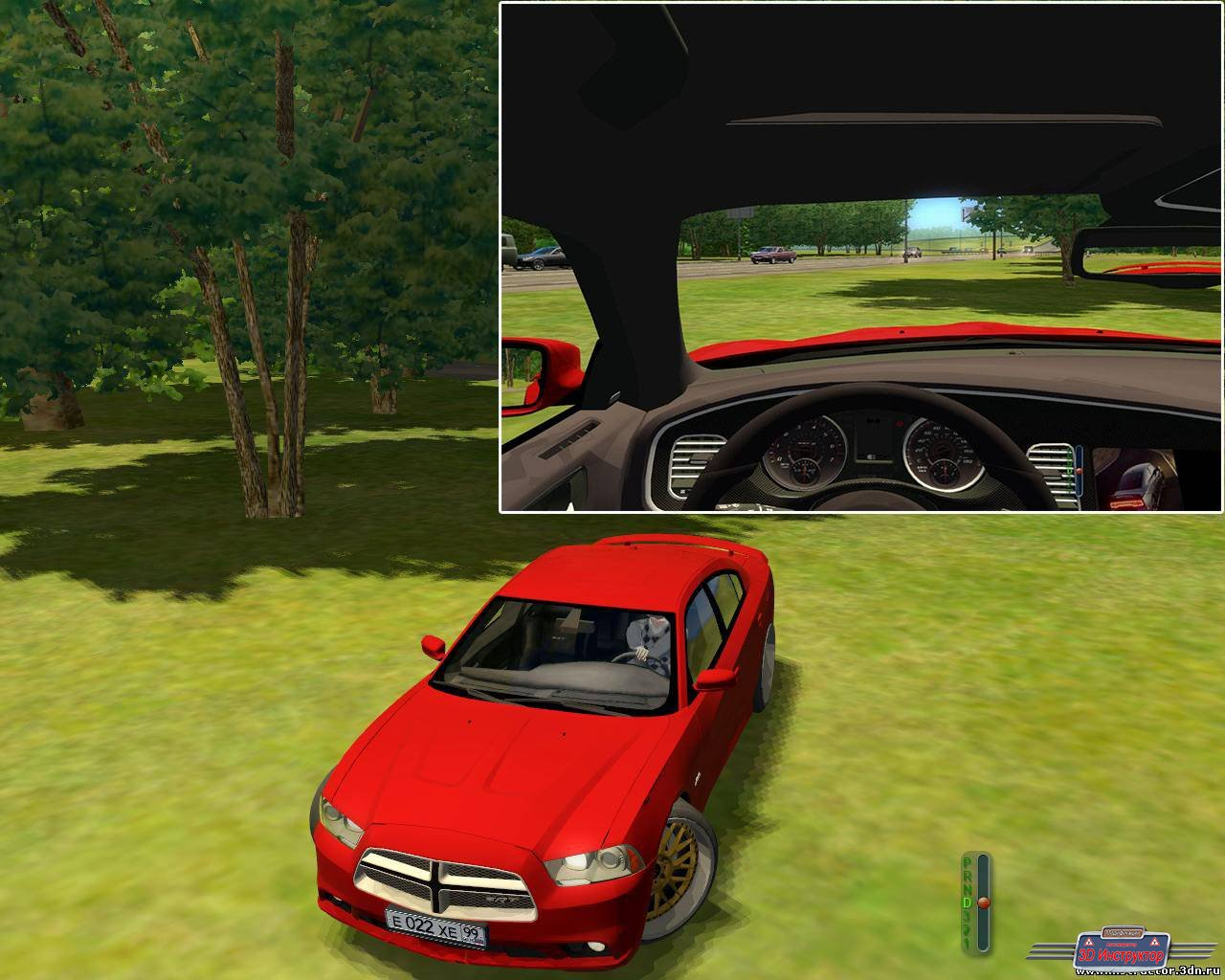 Dodge Charger srt 8 для 3D Инструктор [2.2.7]