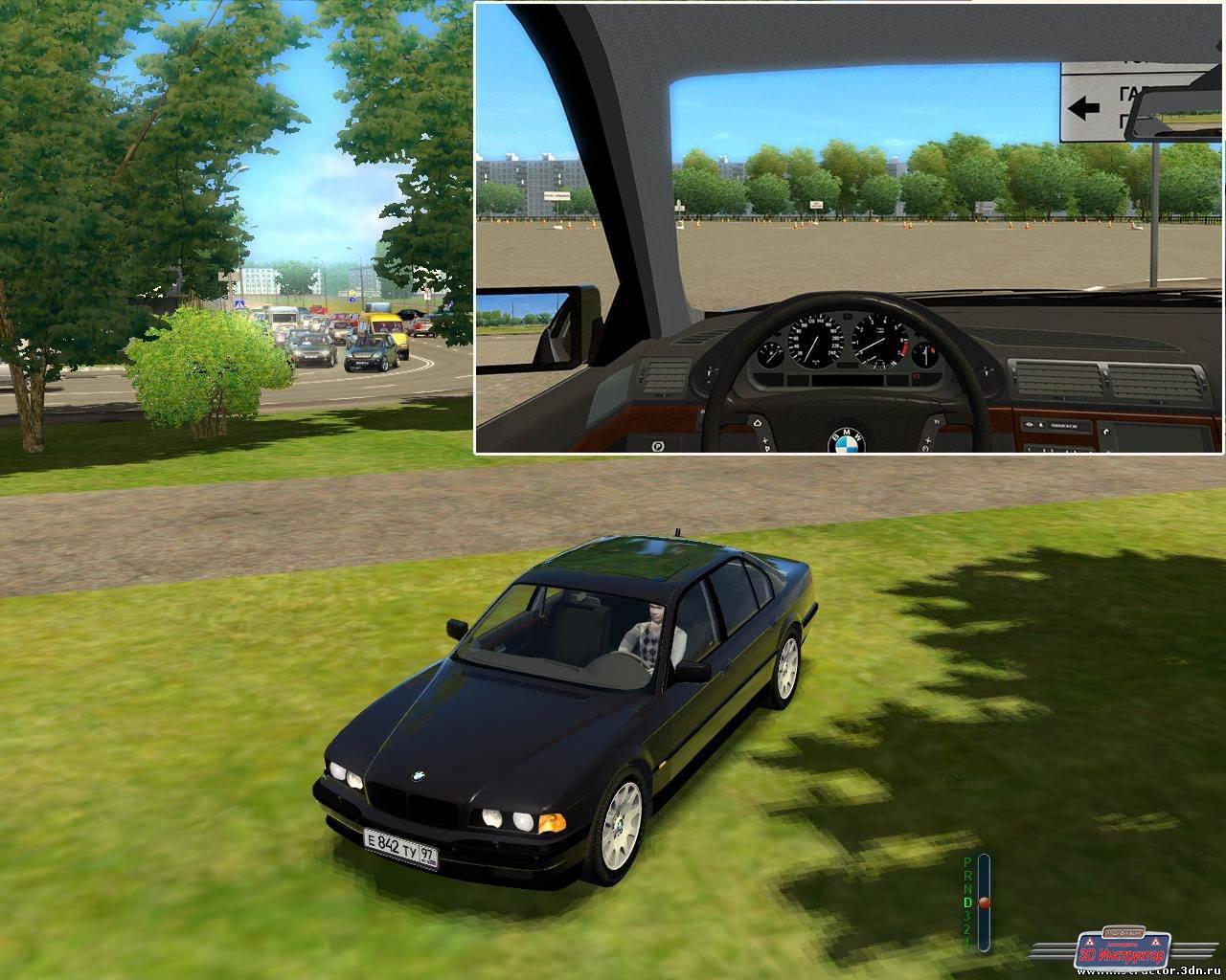 BMW 750i E38 для 3D Инструктор [2.2.7]