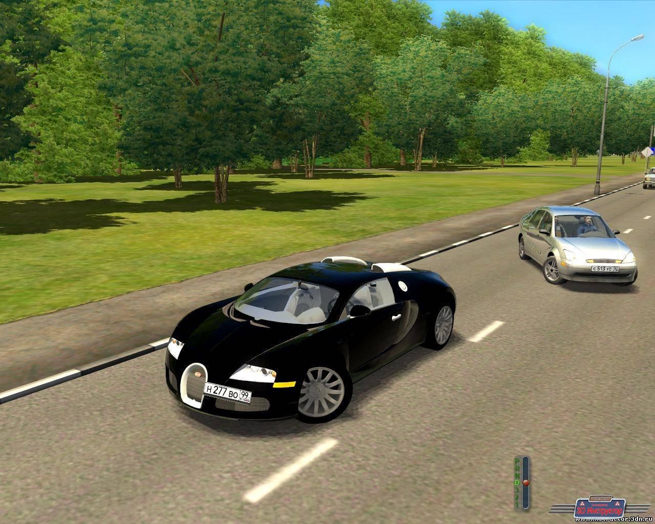 Bugatti Veyron для 3D Инструктор [2.2.7]