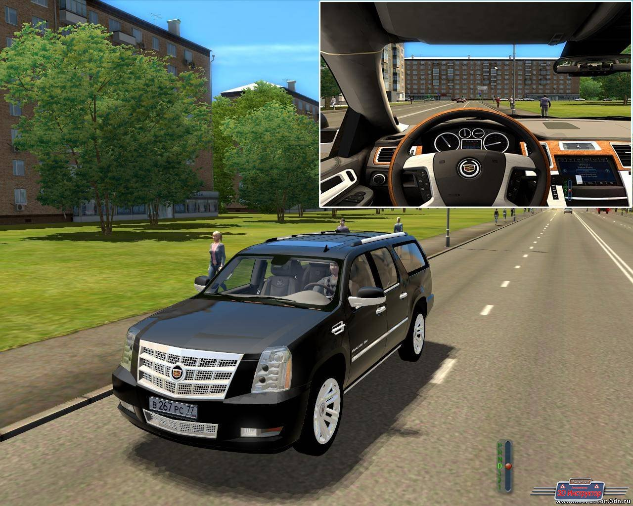Cadillac Escalade ESV Platinum для 3D Инструктор [2.2.7]