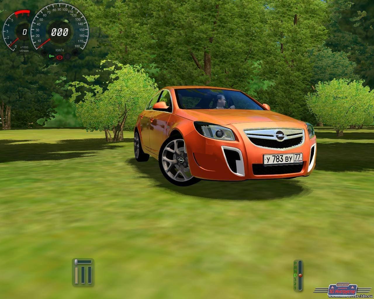 Opel Insignia OPC для 3D Инструктор [2.2.8- 2.2.10]