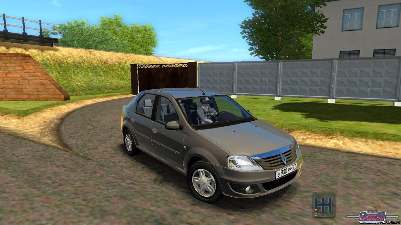 Renault Logan для 3D Инструктор [2.2.10]